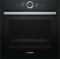 Bosch Serie 8 HBG6764B6B Wifi Connected Built In Electric Single Oven - Black
