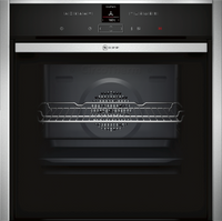 NEFF N70 Slide&Hide B47CR32N0B Built In Electric Single Oven - Stainless Steel