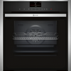 NEFF N90 Slide&Hide B57VS24H0B Wifi Connected Built In Electric Single Oven with Steam Function - Stainless Steel