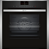 NEFF N90 Slide&Hide B47FS34H0B Wifi Connected Built In Electric Single Oven with Steam Function - Stainless Steel