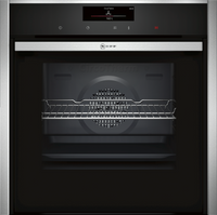 NEFF N90 Slide&Hide B58CT68H0B Wifi Connected Built In Electric Single Oven - Stainless Steel