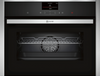 NEFF N90 C27CS22H0B Wifi Connected Built In Compact Electric Single Oven - Stainless Steel