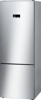 Bosch Serie 4 KGN56XLEA 70cm Frost Free Fridge Freezer - Stainless Steel Effect - E Rated
