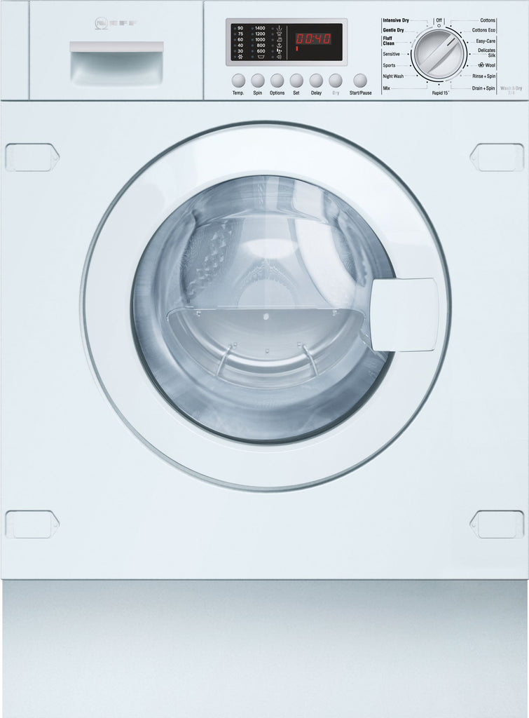 NEFF V6540X2GB Integrated 7Kg / 4Kg Washer Dryer with 1400 rpm - B Rated