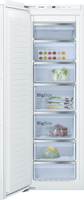 Bosch Serie 6 GIN81AEF0G 56cm Integrated Upright Frost Free Freezer - Fixed Door Fixing Kit - White - A+ Rated