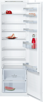 Neff N50 KI1812SF0G 54cm Integrated Upright Larder Fridge - Sliding Door Fixing Kit - White - A++ Rated