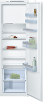 Bosch Serie 4 KIL82VSF0 54cm Integrated Upright Fridge with Ice Box - Sliding Door Fixing Kit - White - A++