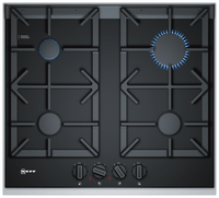 Neff N90 T26TA49N0 61cm Gas Hob - Black Glass