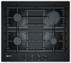 Neff N70 T26CS49S0 59cm Gas Hob - Black Glass