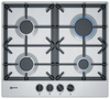 Neff N70 T26DS49N0 58cm Gas Hob - Stainless Steel
