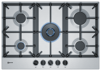 Neff N70 T27DS59N0 75cm Gas Hob - Stainless Steel