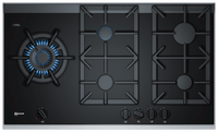 Neff N90 T29TA79N0 92cm Gas Hob - Black Glass