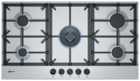 Neff N70 T29DS69N0 92cm Gas Hob - Stainless Steel