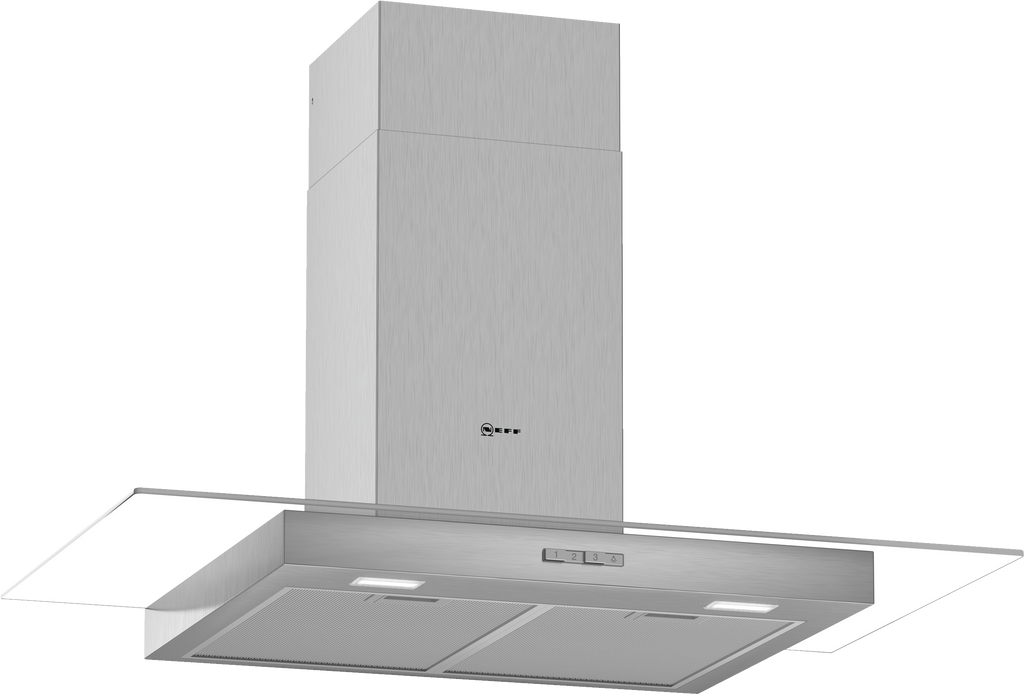 Neff N30 D94GBC0N0B 90cm Chimney Hood - Stainless Steel
