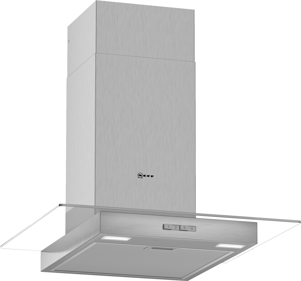 Neff N30 D64GBC0N0B 60cm Chimney Hood - Stainless Steel