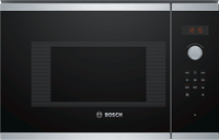 Bosch Serie 4 BFL523MS0B 20 Litre Built In Microwave - Stainless Steel