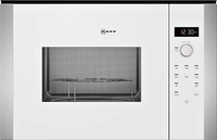 NEFF N50 HLAWD53W0B 25 Litre Built In Microwave - White