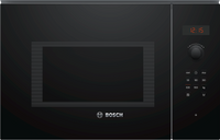 Bosch Serie 4 BFL553MB0B 25 Litre Built In Microwave - Black