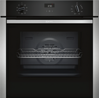 NEFF N50 B1ACE4HN0B Built In Electric Single Oven - Stainless Steel
