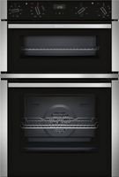 NEFF N50 U1ACE2HN0B Built In Double Oven - Stainless Steel