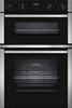 NEFF N50 U1ACI5HN0B Built In Double Oven - Stainless Steel