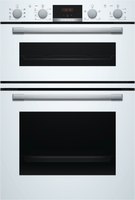 Bosch Serie 4 MBS533BW0B Built In Electric Double Oven - White