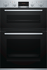 Bosch Serie 4 MBS533BS0B Built In Electric Double Oven - Stainless Steel