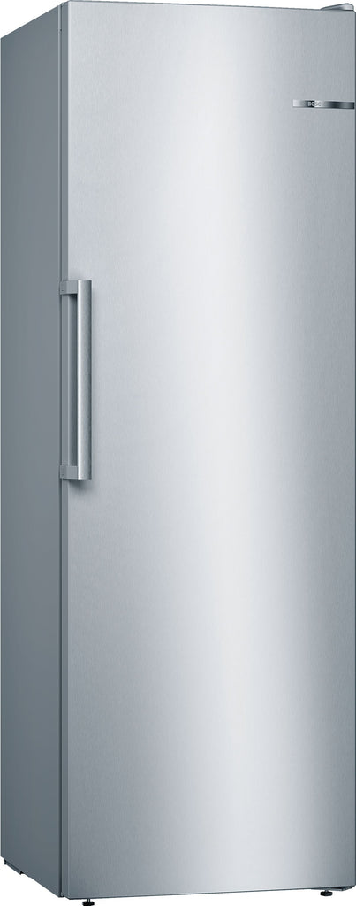 Bosch Serie 4 GSN33VLEP 60cm Frost Free Tall Freezer - Stainless Steel Effect - A++ Rated