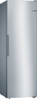 Bosch Serie 4 GSN36VLFP 60cm Frost Free Tall Freezer - Stainless Steel Effect - F Rated