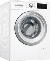 Bosch Serie 6 i-Dos™ WAU28PH9GB Wifi Connected 9Kg Washing Machine with 1400 rpm - White - C Rated