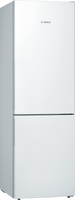 Bosch Serie 4 KGE36AWCA 60cm Fridge Freezer - White - C Rated