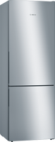 Bosch Serie 4 KGE49AICAG 70cm Fridge Freezer - Stainless Steel Effect - C Rated