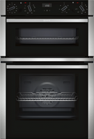 NEFF N50 U1ACE5HN0B Built In Double Oven - Stainless Steel