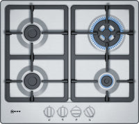 Neff N50 T26BB59N0 58cm Gas Hob - Stainless Steel