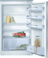 Bosch Serie 2 KIR18NSF0G 54cm Integrated Upright Larder Fridge - Sliding Door Fixing Kit - White - A+ Rated