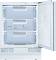 Bosch Serie 6 GUD15AFF0G 60cm Integrated Undercounter Freezer - Fixed Door Fixing Kit - White - A+ Rated
