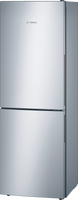 Bosch Serie 4 KGV33VLEAG 60cm Fridge Freezer - Stainless Steel Effect - E Rated