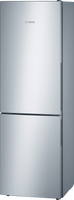 Bosch Serie 4 KGV36VLEAG 60cm Fridge Freezer - Stainless Steel Effect - E Rated