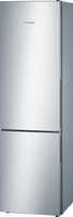 Bosch Serie 4 KGV39VLEAG 60cm Fridge Freezer - Stainless Steel Effect - E Rated