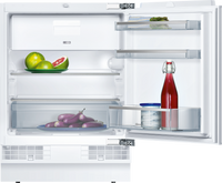 Neff N50 K4336XFF0G 60cm Integrated Undercounter Fridge with Ice Box - Fixed Door Fixing Kit - White - A++ Rated