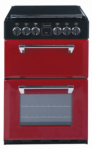 Stoves Richmond 550E Electric Ceramic Hob Double Oven Cooker Hot Jalapeno