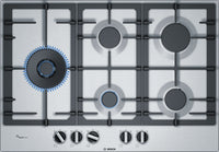 Bosch Serie 6 PCS7A5B90 75cm Gas Hob - Stainless Steel