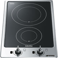 Smeg Classic PGF32I-1 31cm Induction Hob - Stainless Steel