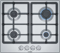 Bosch Serie 2 PGP6B5B90 58cm Gas Hob - Stainless Steel