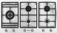 Smeg Classic PS906-5 90cm Gas Hob - Stainless Steel
