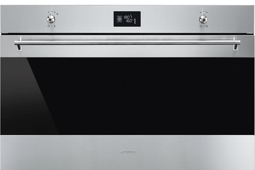 Smeg Classic SF9390X1 Built In Electric Single Oven - Stainless Steel