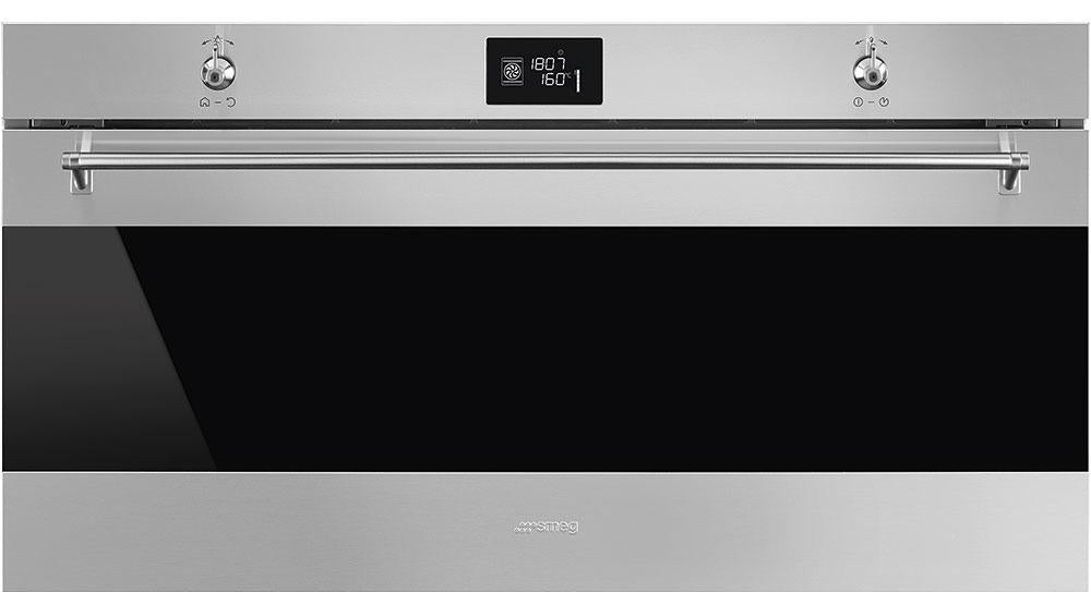 Smeg Classic SFR9390X Built In Electric Single Oven Reduced Height - Stainless Steel