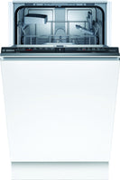 Bosch Serie 2 SPV2HKX39G Integrated Slimline Integrated Dishwasher - Black Control Panel - E Rated