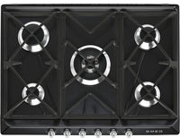 Smeg Victoria Gas Hob SR975NGH Black 685mm Wide