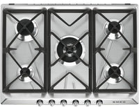 Smeg Gas Hob SR975XGH Stainless Steel 685mm Wide